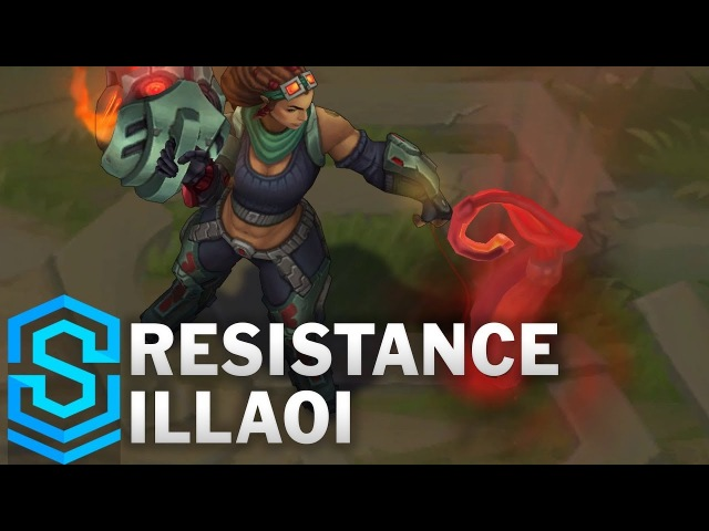 Resistance Illaoi Skin Spotlight - Pre-Release - League of Legends