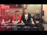 Theory Of A Deadman Talk About Their Favorite Hall O Ween Candy &amp Costume