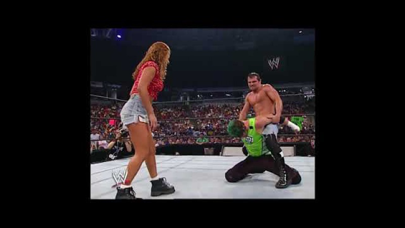 Nidia Jamie Noble Confront The Hurricane SmackDown 06 13 2002