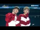 A C E's Chan Jun impress mentors with Sunmi's 'Gashina' The Unit 2017 12 06