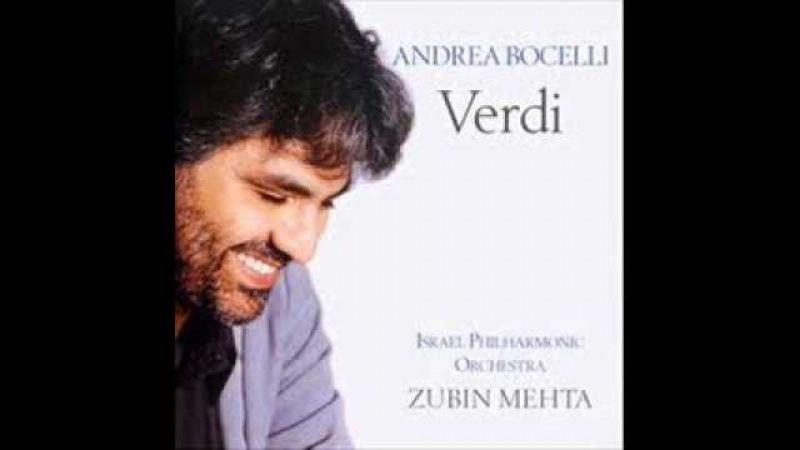 Andrea Bocelli - Quando Le Sere Al Placido