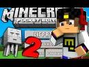 Майнкрафт ПЕ 2 Выживание Новая Игра Троллинг Видео для детей в Minecraft Pocket Edition (PE)