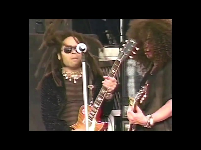 Guns N Roses (with Lenny Kravitz) - Always on the Run (Live in Paris 1992) (60fps)