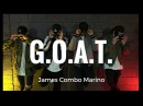 G.O.A.T. - Eric Bellinger | @jamescombomarino Dance