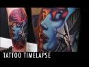Tattoo Timelapse Geoffery Shelter
