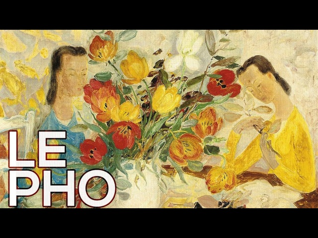 Le Pho: A collection of 178 paintings