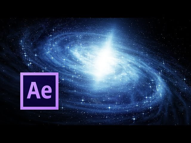 Amazing 3D Galaxy Simulation   After Effects Tutorial