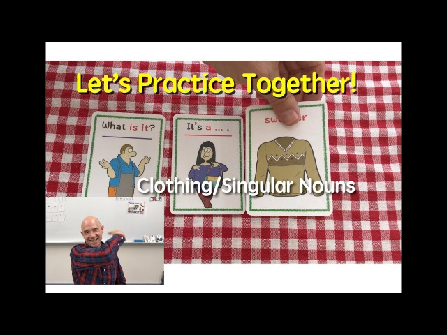 Card Game | Clothing | What Is It? | 26 | Vocabulary-Based Conversation Cards | ESL | EFL | ELL