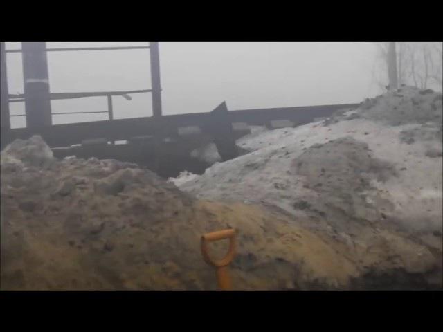 9 ПДР 3 ПДБ на мості. 26.01.15