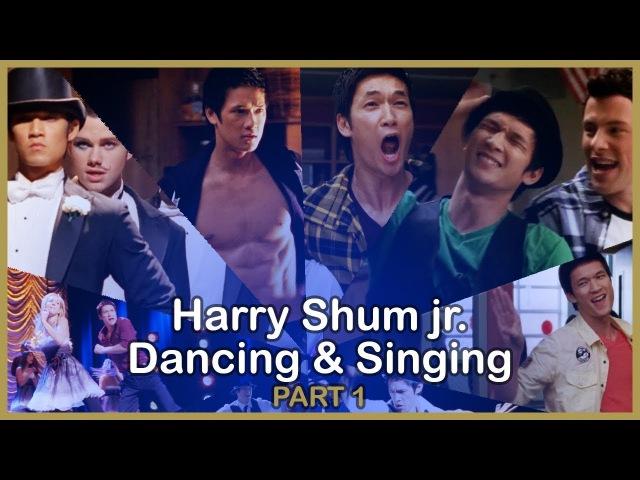 Harry Shum Jr Dancing Singing in Glee - PART 1