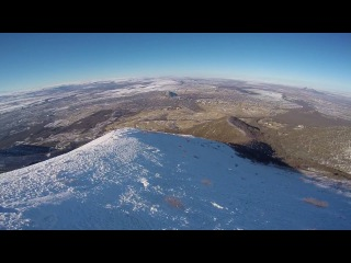 Спидфлаинг на горе Бештау (КМВ) / Speedflying on mount Beshtau (Caucasus)