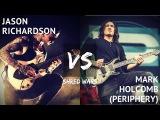 Mark Holcomb VS Jason Richardson (Periphery)  Guitar Shred Wars  PRS  Djent  Progressive Metal
