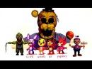 Игрушки ФНАФ Пять Ночей с Фредди приколы 5 ночей Toy FNAF Five Nights at Freddy