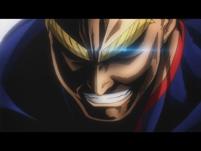 All Might VS Midoriya Bakugo - Best Anime Moments Boku No Hero Academia S02