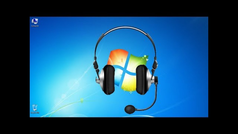 How to Setup Microphone Earphone with Your Computer Driver