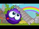 Catch the candy 2 ПУШИСТИК СЛАДКОЕЖКА путешествует по разным странам Мультик Игра для детей