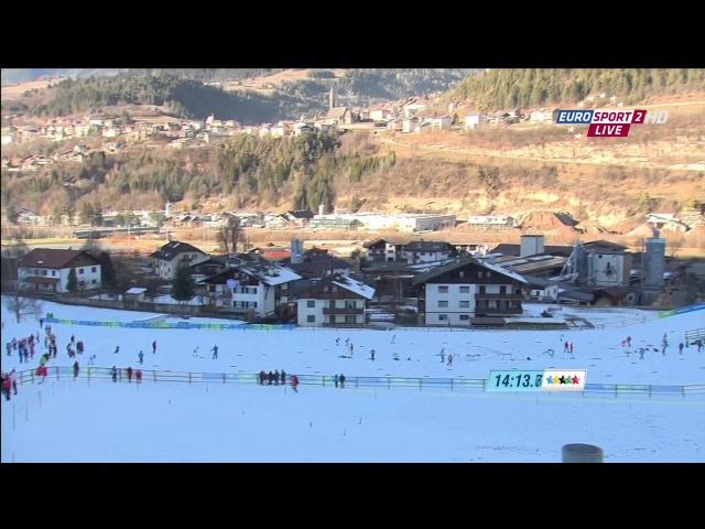 XXVI Зимняя Универсиада 2013 Трентино Италия Лыжные гонки Женщины Скиатлон 55 км Rutracker org