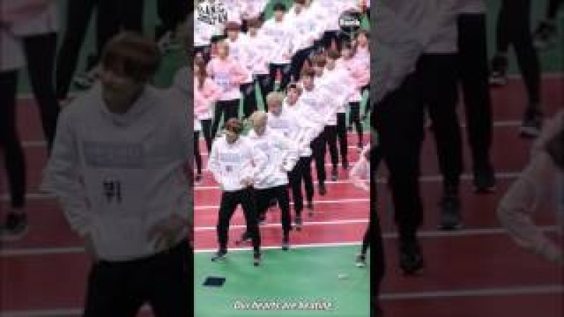 ENG 170319 BOMB Funny Dance time @ ISAC 2017