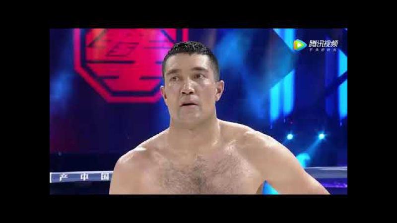 Уйгурский боксер Mamat Tursun Chong vs монгол Hu Richabilige часть 8