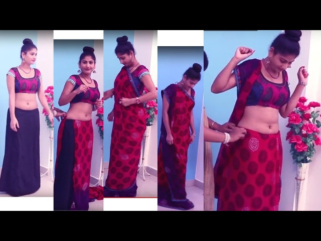 Proper Saree Draping Video   How To Wear Heavy Saree Blouse   Saree Perfectly Step By Step