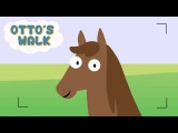 Farm Animals - Otto's walk - Learn Animals - Funny Animals Cartoons For Kids & Toddlers