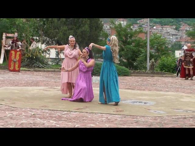 Ninfe Nereidi - A.C. Nereides Danze Antiche TRAILER danze antiche romane