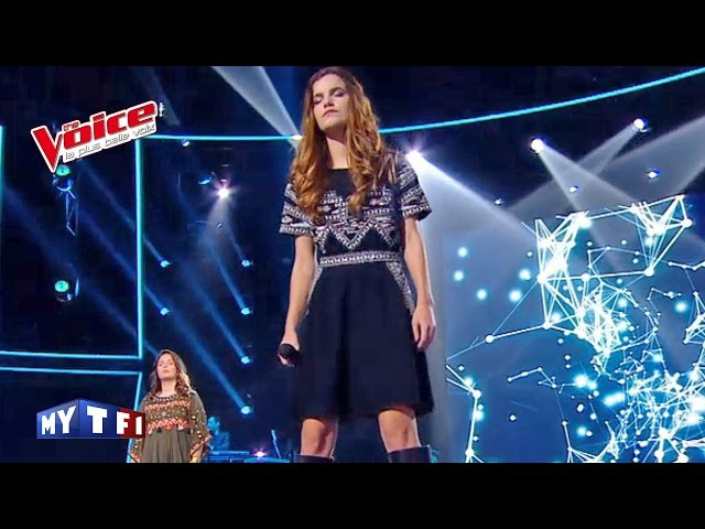 The Voice 2016 | Gabriella VS Ilowna - Castle in the Snow (The Avener Kadebostany) | Battle