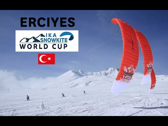 Erciyes IKA Snowkite Worldcup announcement