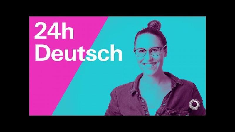 Einfach Deutsch lernen - Learn German with Ida   24h Deutsch   A2/B1