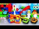 Мультик про машинки и развивающие игровые наборы для малышей