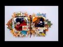 Leaf fall Mix media album Tutorial