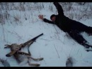 Приколы на охоте ЛОВЛЯ ЗАЙЦА голыми рукамиВ ТАКОЕ НЕВОЗМОЖНО ПОВЕРИТЬ.