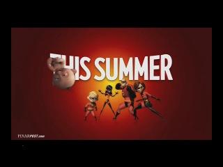 Disney & Pixar's Incredibles 2 - (2018 PyeongChang Winter Olympics Games) Preview TV Spot #1