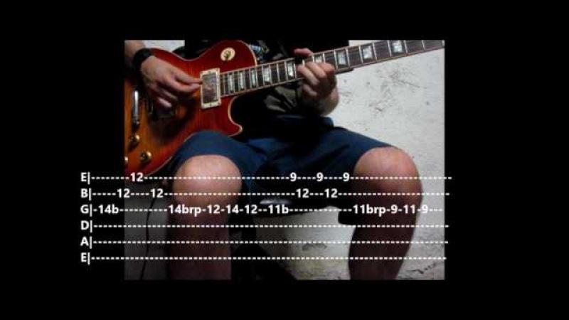 Led Zeppelin - Communication breakdown - solo tutorial with TABS