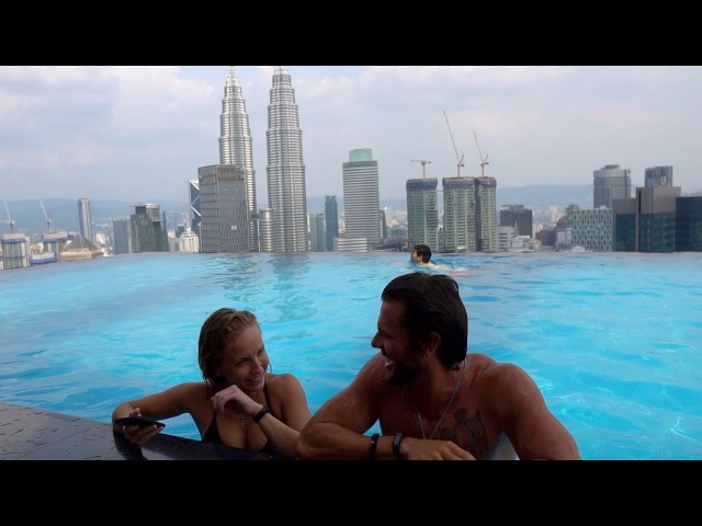 Крутая квартира Бассейн на крыше Куала Лумпур смотреть онлайн без регистрации