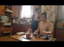 Feudor Lokshin on Instagram: Почти позавтракали... ❤ 👫🍴