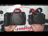 Goodbye Canon, Hello Sony I sell my last Canon DSLR, the 5D Mark IV