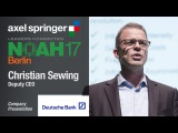 Christian Sewing, #Deutsche #Bank - #NOAH17 #Berlin