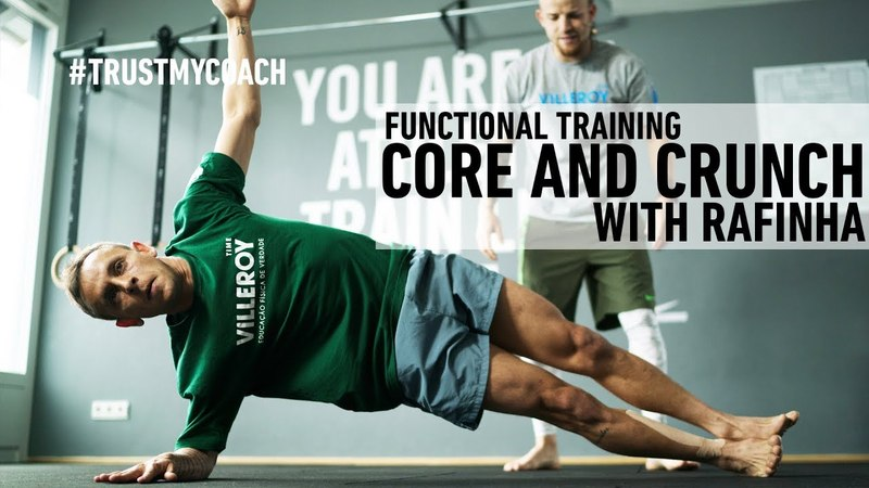 Core and Crunch Training with Rafinha! (FC Bayern München) - TRUSTMYCOACH Full Body Workout