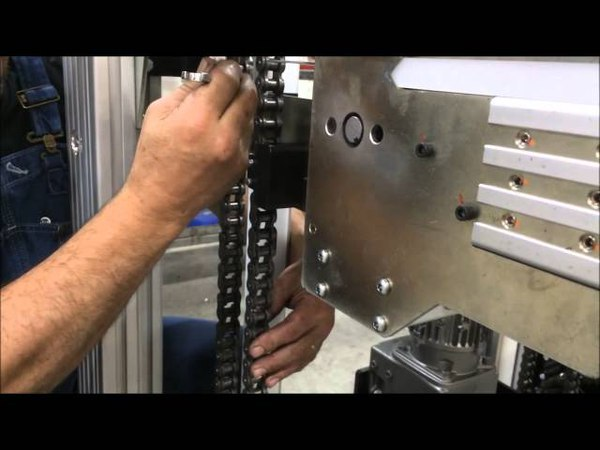 4 Chain lift leveling tension