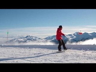 Snowboard Addiction  Buttering (Goofy) - How To Penguin Walk Goofy