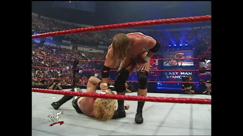 114. Крис Джерико против Трипл Эйча; 23 июля 2000 года; матч по правилам Last Man Standing; Fully Loaded 2000