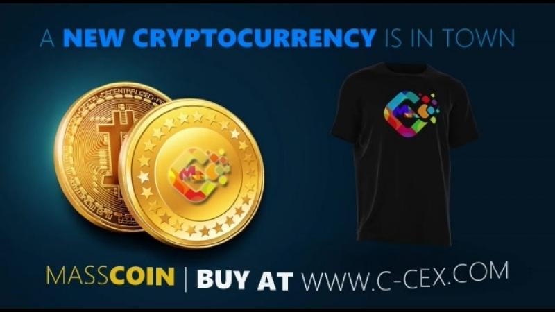 MASSCRYP Coin - новая перспективная криптовалюта уже торгуется на бирже C-CEX.COM
