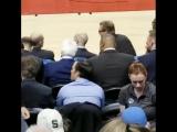 Дрейк на игре Toronto Raptors vs. Boston Celtics в Торонто, Канада