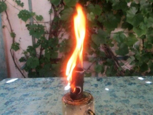 mfsboATtT8 - Лайфхак для розжига костров в неблагоприятных условиях