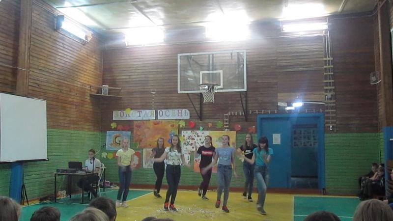 выступление 7б класса Югыдъягской СОШ осень 2017г