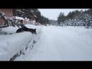 Команда Барьер или игра с собакой в снежки