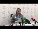 Пресс конференция вице президента ОКР Станислава Позднякова на Олимпиаде в Пхенчхане