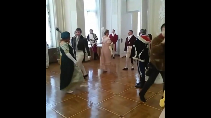 Французская кадриль на Николаевском балу.