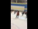 Халык арена первый раз на коньках 21 01 2018